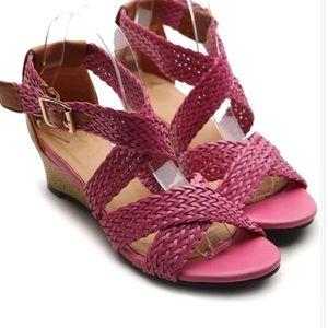 Women's Shoes Wedge Mid Heel Platform